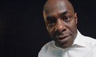 Paterson Joseph speaks Shylock's lines from The Merchant of Venice, in which the moneylender reminds Antonio of the times he has insulted him