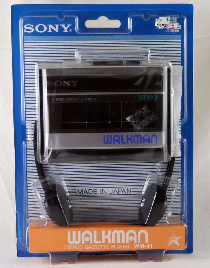 Walkman WM-41 Stereo Cassette Player
