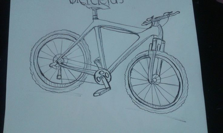 Sketch bicicleta ✏!!