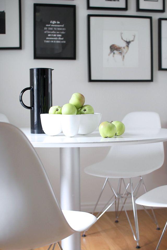 Via Pihkala | Saarinen Dining Room Table | Eames Chair | Stelton