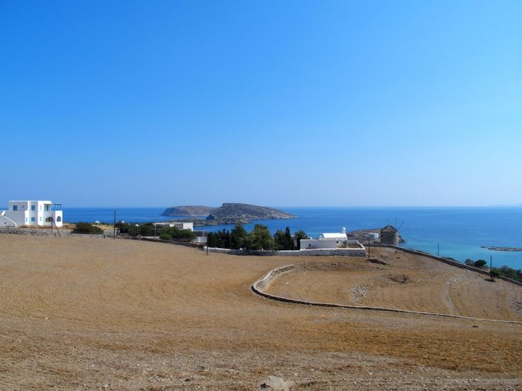 The view from Deli restaurant at Schinousa, Cyclades.