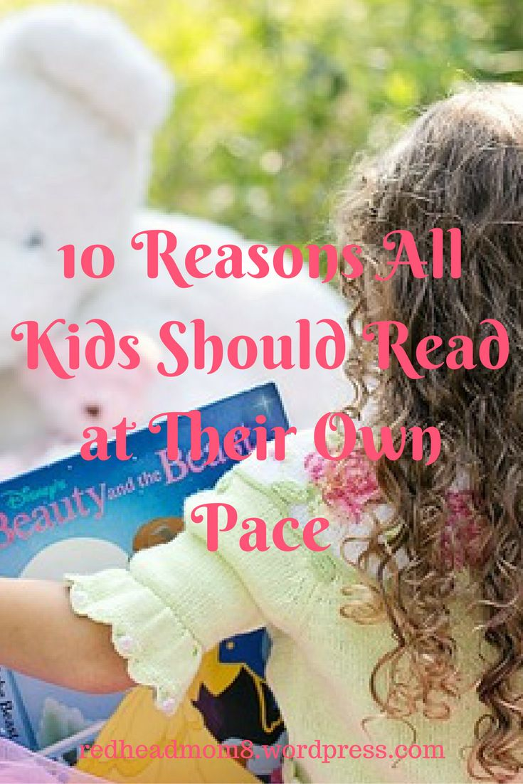 10 Reasons All Kids Should Read at Their Own Pace