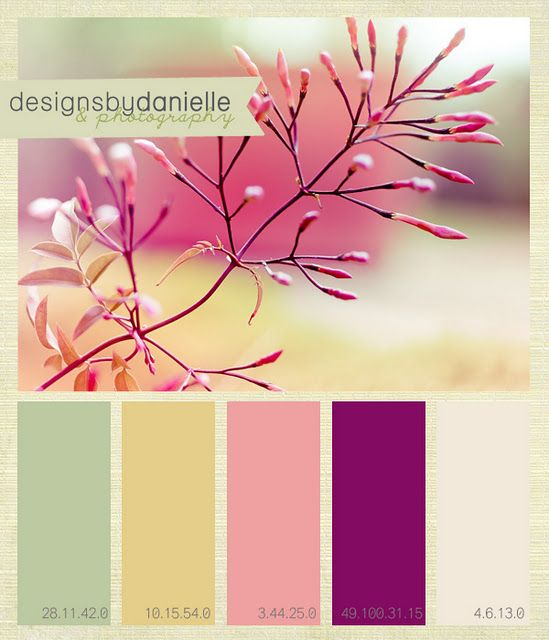 I like this color palette as well, but like I said on another color palette, it'd have to fit with a specific theme, probably something girly.    followpics.co