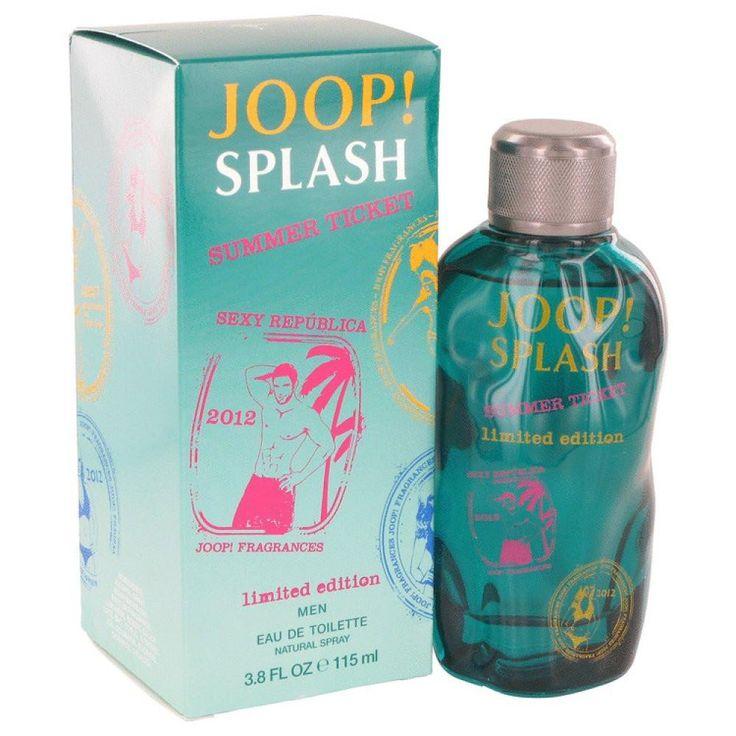 Joop Splash Summer Ticket By Joop! Eau De Toilette Spray 3.8 Oz