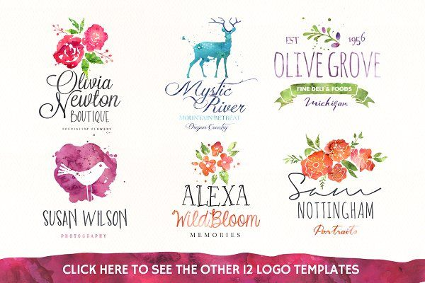 20%off • Watercolour Graphics Quick! by Nicky Laatz on @creativemarket