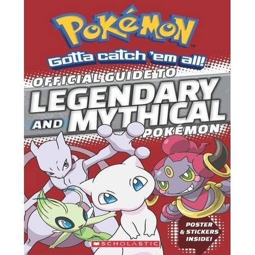 Pokemon Book Official Guide to Legendary and Mythical Pokémon Must Have NEW #Pokemon