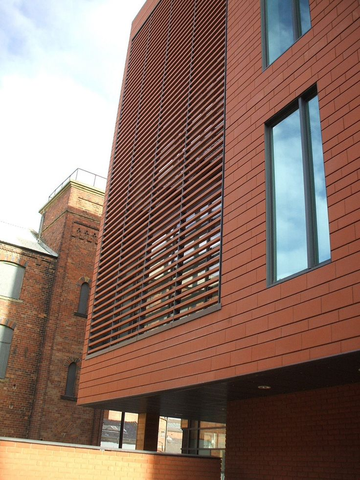 James And Taylor Terracotta Cladding Details Building