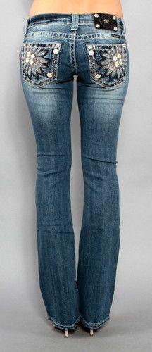 Womens Miss Me Jeans Sunflower Garden JP5721B Boot Cut 25 26 27 28 29 30 31 | eBay