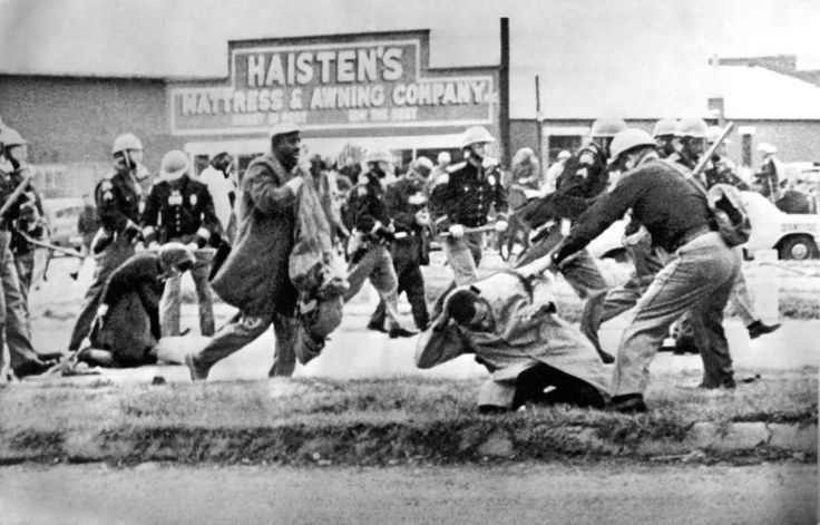 I thought I saw death. I thought I was going to die.  --John Lewis #Selma50
