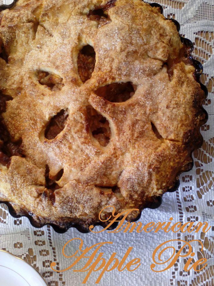 Apple Pie - amerykańskie placek z jabłkami PRZEPIS
