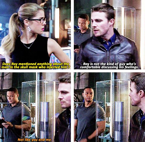 Arrow - Diggle, Oliver & Felicity #2.11 #Season2