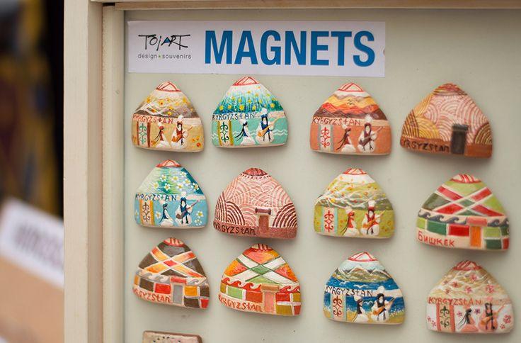 "magnets/магниты   ""Юрта"" Выполнены вручную,показывают всю сущность Кыргызского народа. Красивый сувенир для вас и ваших друзей!   Материалы: глина.  Are executed manually, show all essence of the Kyrgyz people. A beautiful souvenir for you and your friends! Materials: clay"