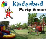 Annelize's Kinderland is a party venue with a difference. It is the one stop party venue that caters for all your party needs: party planning, themes, party packs, different type of cakes and entertainment, balloons, photography and catering.