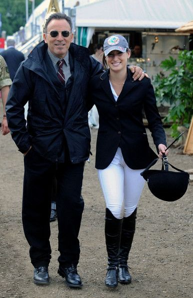 Jessica Springsteen Photo - Bruce Springsteen and His Daughter at the Royal Windsor Horse Show