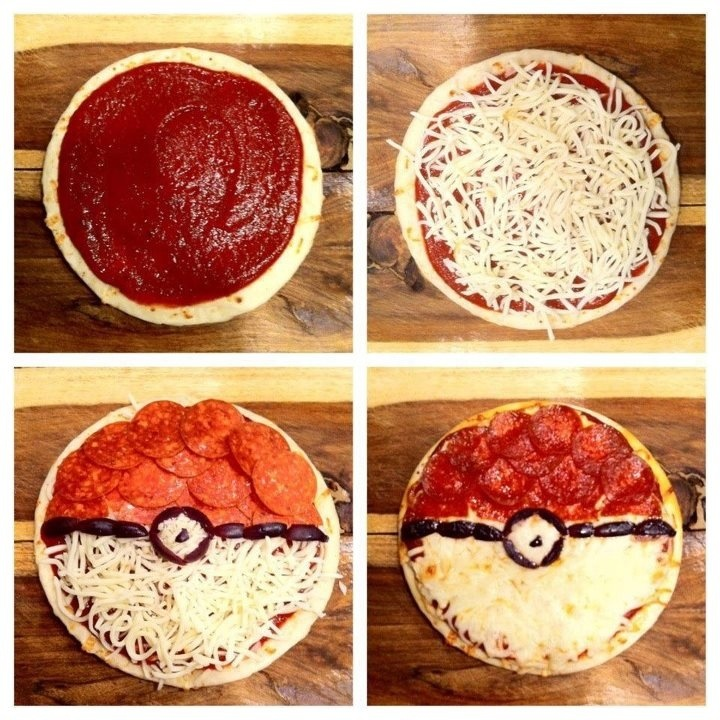 Pokeball Pizza!