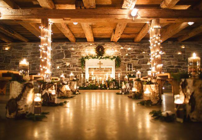 A Cozy (And Glitzy!) Winter Wedding | TheKnot.com