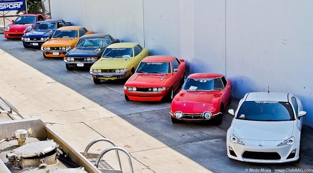 Toyota Sport Family by Moto@Club4AG, via Flickr
