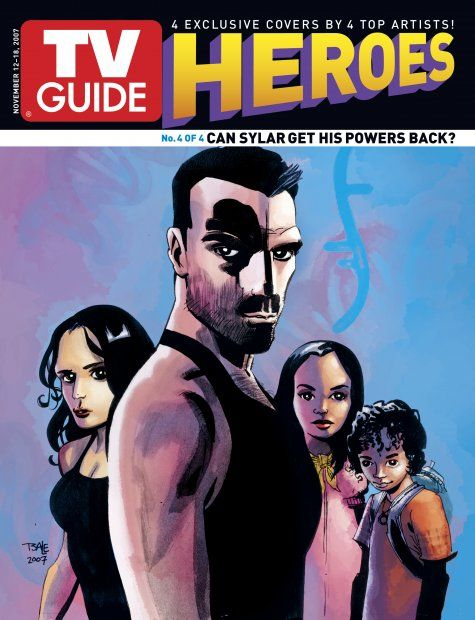 November 12, 2007 TV Guide 1 of 4 Covers Heroes