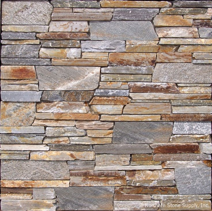 Thin Brick Veneer Stone Natural Thin Stone: 1000+ Images About Stone Walls On Pinterest