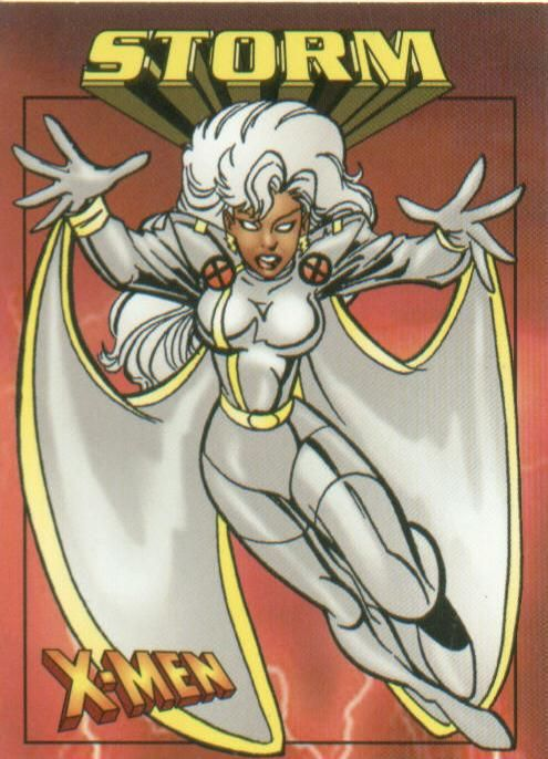 xmen storm tattoo | Polar Blair's Den- Trading Cards: X ...