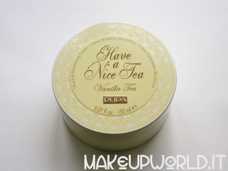 Pupa Have a Nice Tea, Vanilla Tea #skincare #body #face #cream