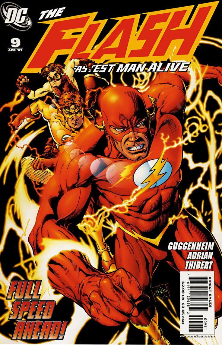 DC Comics - Flash: The Fastest Man Alive (2006) #9