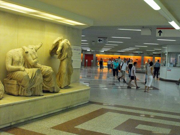 The mini-museums of the Athens Metro | Greece travel tips | Grumpy Traveller