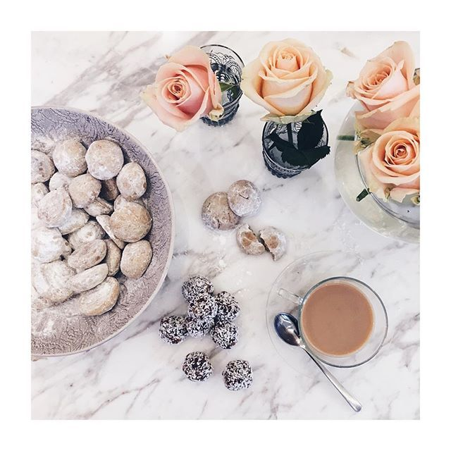 { sunday tea time } Greek biscuits & date coconut biscuits #sundaytea…