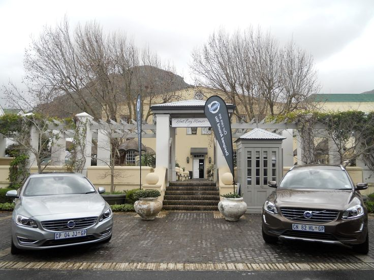 Volvo '60 range gracing the exterior of Hout Bay Manor, Hout Bay