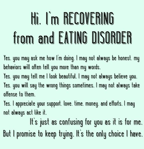 undertaking eating disorders in the book surviving an eating disorder What are eating disorders eating disorders are serious but treatable mental illnesses that can affect people of every age, sex, gender, race, ethnicity, and socioeconomic group.