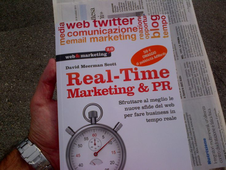 """Real-time marketing & PR"""