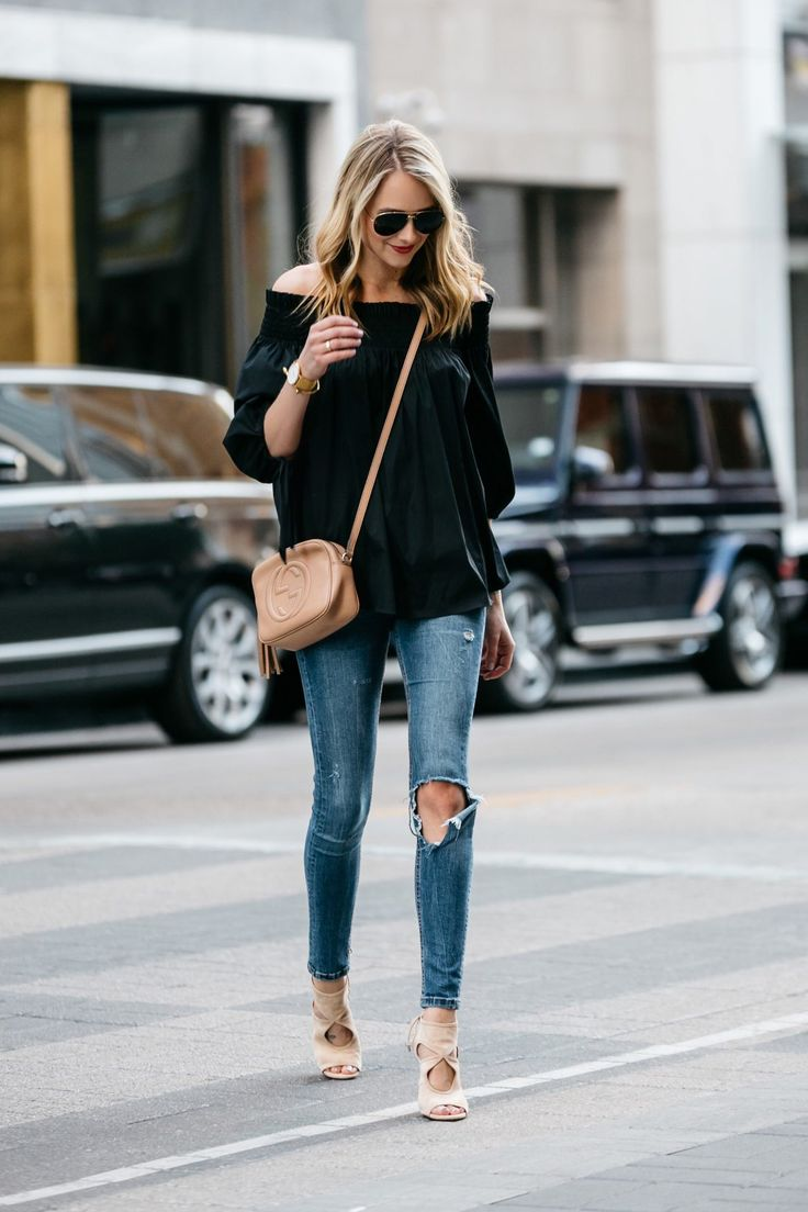 10 LOOKS REALES CON CAMISAS OFF SHOULDER - IT STYLE