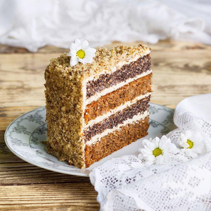 Anybenyraba: орехово-маковый торт с кофе