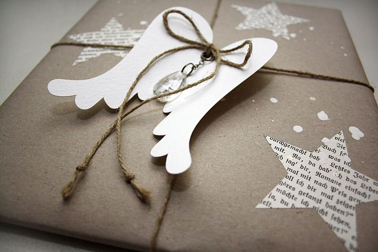Tolle Idee, Geschenke zu verpacken