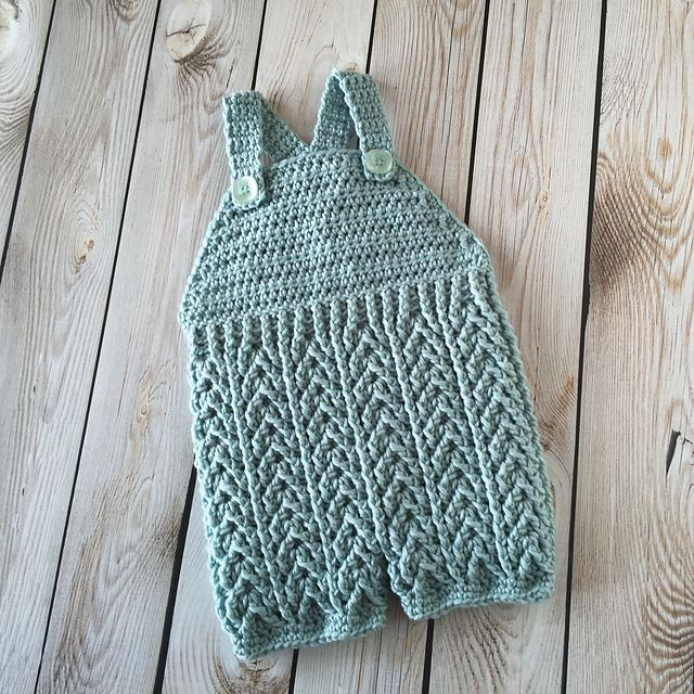 Ravelry: Arrowhead Baby Pants or Overalls pattern by Crochet by Jennifer