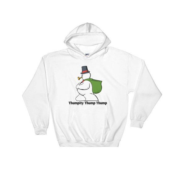 A Ring Da Ding Ding Christmas Zip Hooded Sweatshirt