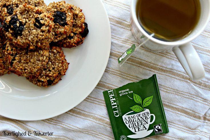 sunde cookies, lette, veganske, morgenmad