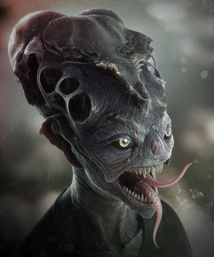 ArtStation - Alien, Ivan Mityaev