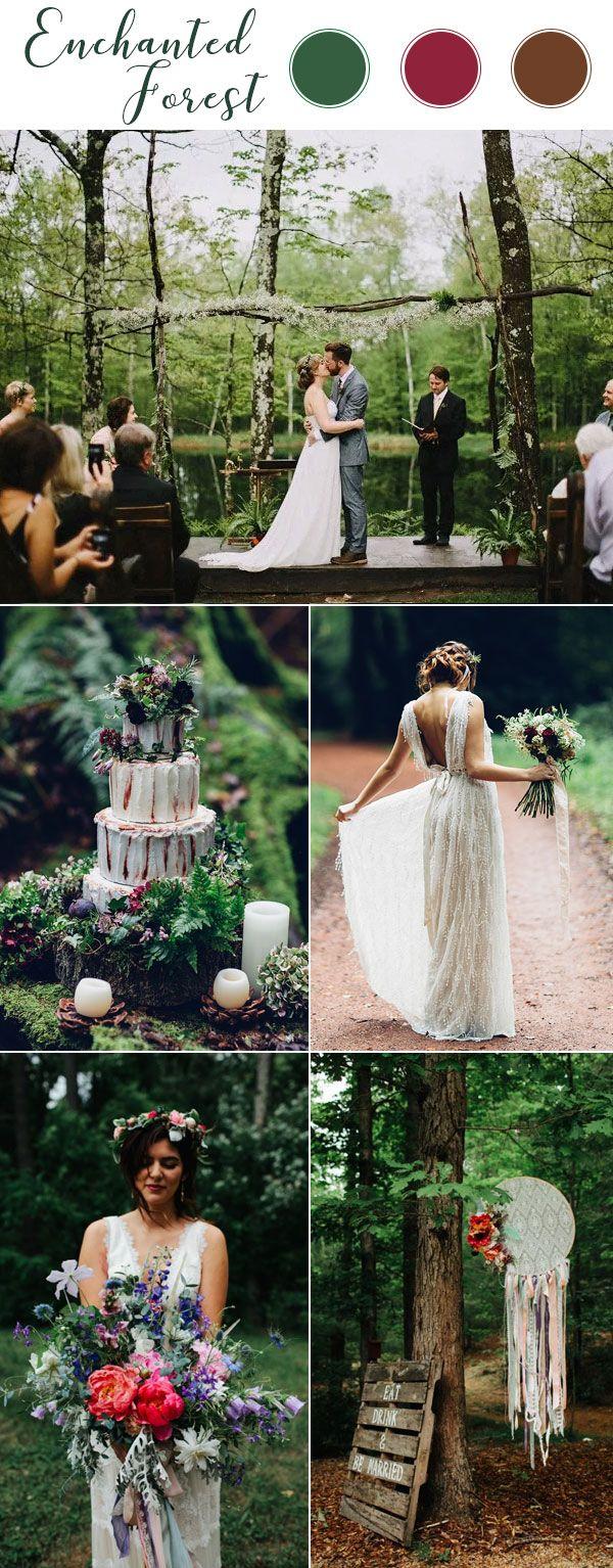 Fairytale Enchanted Forest Wedding Themes 2018