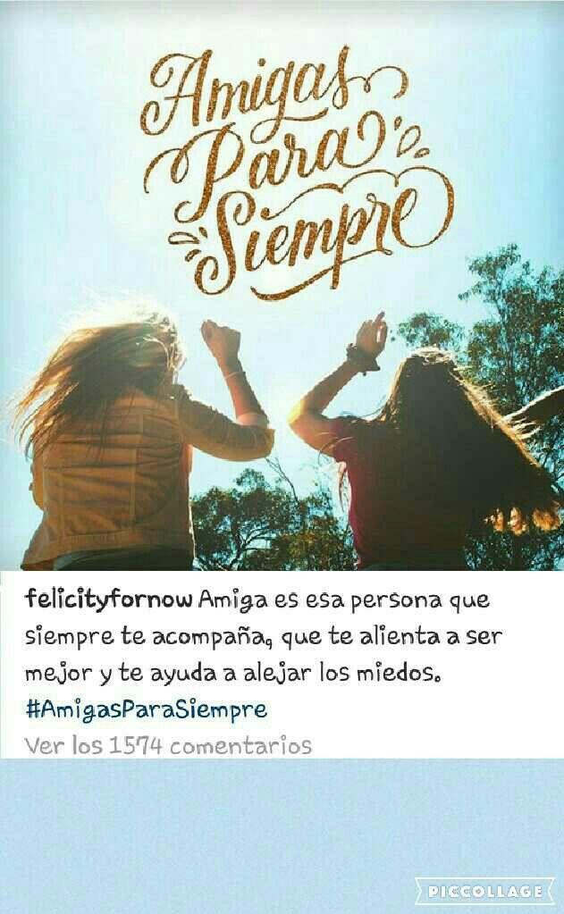 verdaderas amigas seran para siempre#felicity for now