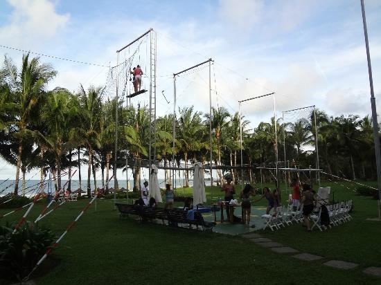 Trapeze @ Club Med Ria Bintan, Indonesia