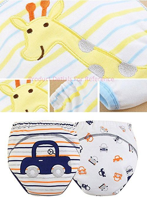 [Car] Baby Toilet Training Pants Nappy Underwear Cloth Diaper 15.4-26.4Lbs