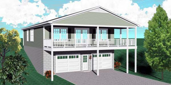 19 best images about lake house over garage on pinterest for Lake house plans with garage