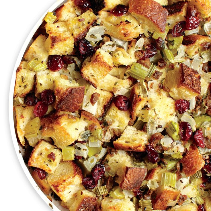 Classic Bread Stuffing with Sausage - Rachael Ray Every Day
