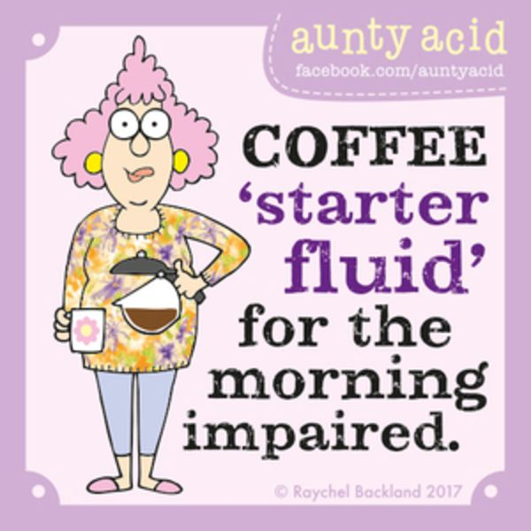 Aunty Acid for 7/19/2017