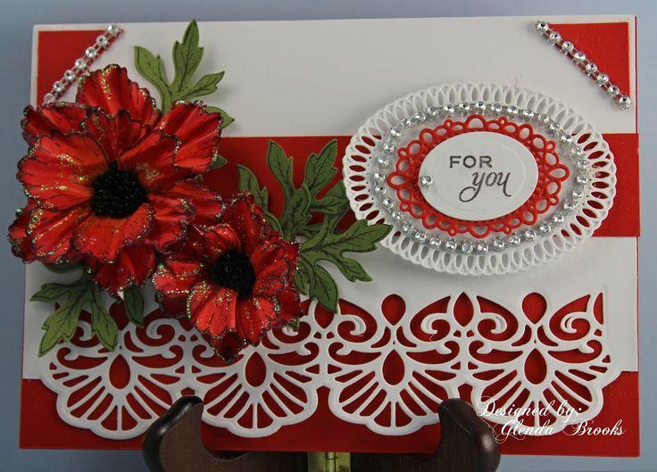 MagPie's Corner : Blazing Poppy Flowers....