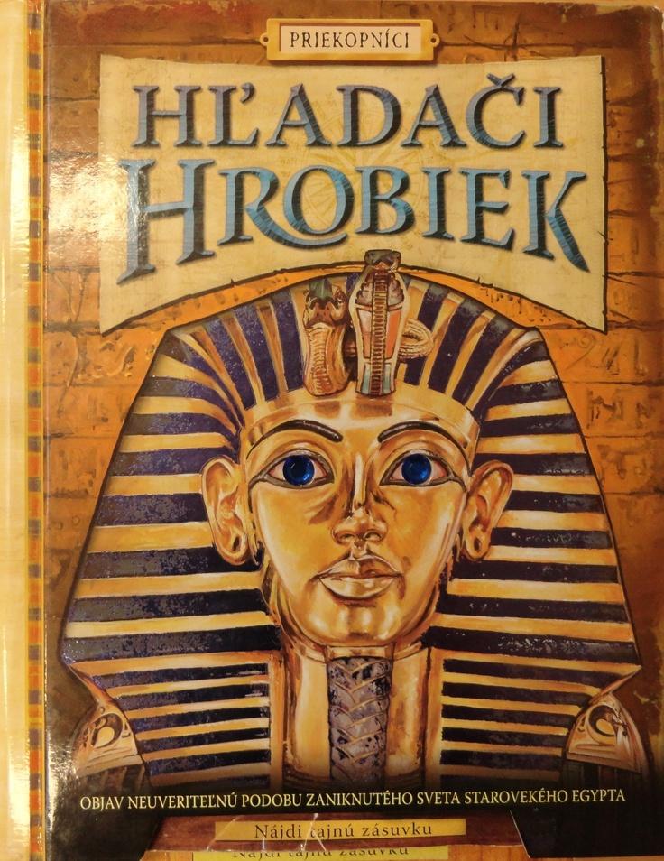 Timka's favourite book Hľadači hrobiek.
