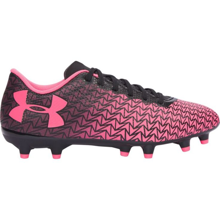 Under Armour Kids' CF Force 3.0 FG Soccer Cleats, Boy's, Black
