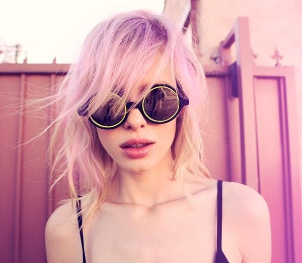 purple hair | rachelinvogue