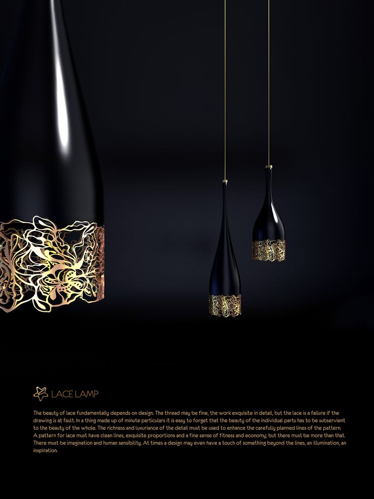 LACE LAMP on Behance